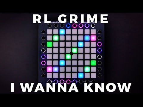 RL Grime - I Wanna Know (ft. Daya) // Launchpad Performance [4K]