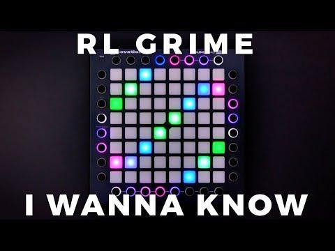 RL Grime - I Wanna Know (ft. Daya) // Launchpad Performance [4K]
