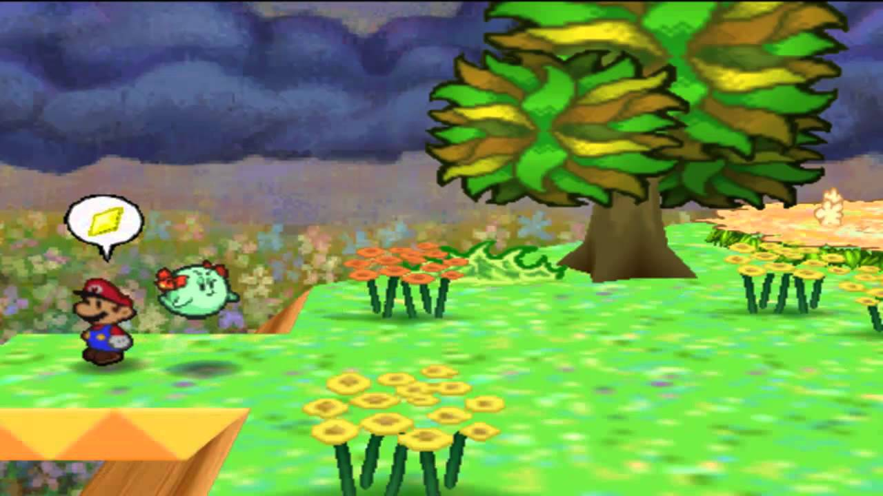 Paper Mario Ita Parte 41 Le Flower Fields Youtube