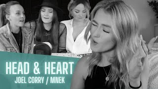 Head & Heart 💛 Joel Corry & MNEK cover by Germein & Chloe Elliot (Sister Sessions)