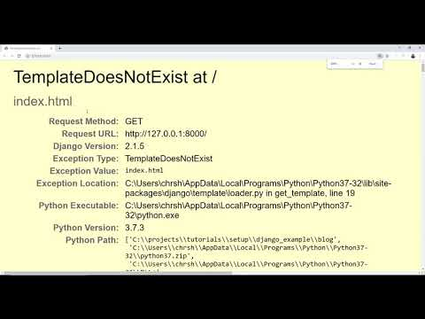Django + Babel + Webpack + React Tutorial thumbnail