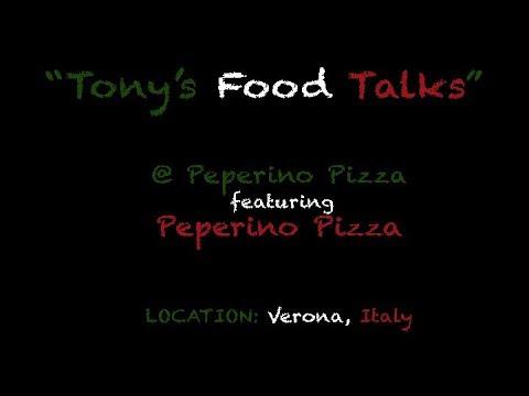 Tony's Food Talks @ Peperino Pizza Ft. Pizza