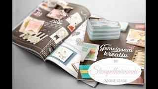 Ausgepackt - Stampin' Up! Bestellung mit Produkt-Preview Hauptkatalog 2017/2018