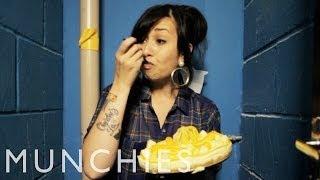 Fake Cheese Cheesecake: Girl Eats Food (Episode 6)