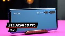 Schnell, schneller, ZTE: Das Axon 10 Pro im Test!