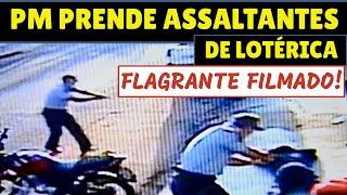 PM detém dupla após assalto em lotérica de Araçatuba