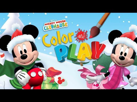 Mickey Mouse Clubhouse - Full Episodes of Color and Play Game (Kids Disney Jr. App) - Walkthrough