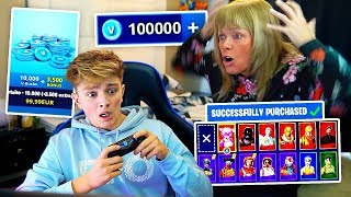 Kid Spends $500 on FORTNITE with Mom's Credit Card... [MUST WATCH] thumbnail