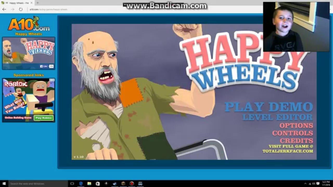 happy wheels a 10