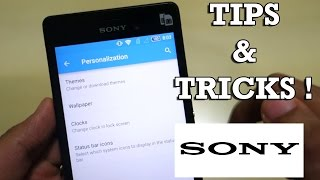 Sony Xperia Lollipop Tips & tricks! [For all sony phones] Xperia M3/M4/Z3/Z4/Z5 !