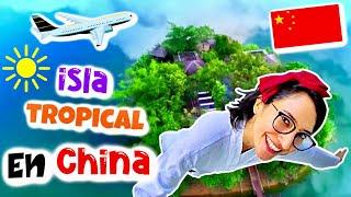 IMPRESIONANTE Isla TROPICAL en CHINA