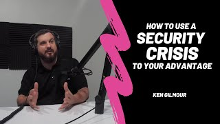 How to Use a Security Crisis to your Advantage | The Cybrary Podcast