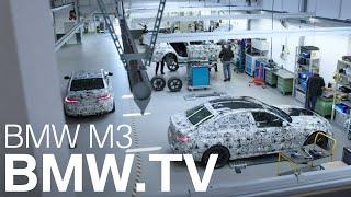 Shaping the icon. Der neue BMW M3.