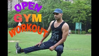 Open Gym Workouts - Step by Step - 18 Excercises
