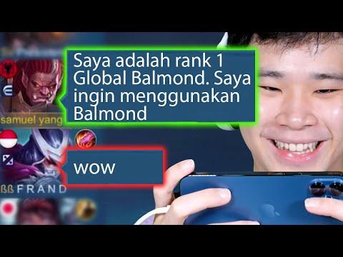 Prank Jadi Top 1 Global Balmond - Mobile Legends