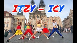 "[K-POP IN PUBLIC - Prague] ITZY - ""ICY"" 