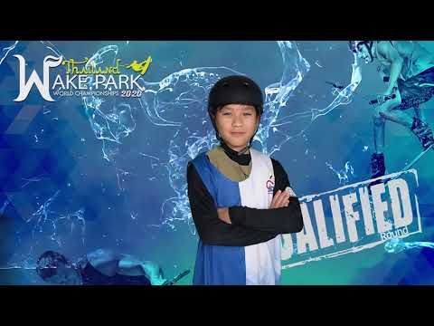 Paphangkorn Chotsarangkool - Boys Under 13 yo Wakeboard