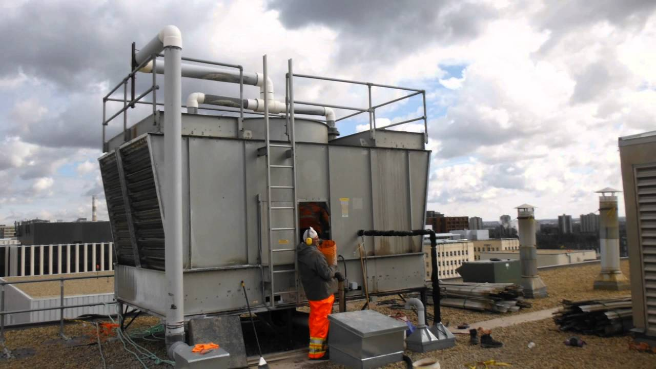 BAC Cooling Tower Maintenance Amp CleaningWetblastca Way
