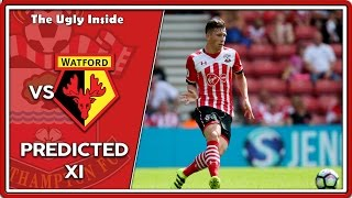 PREDICTED XI: Southampton vs Watford | The Ugly Inside