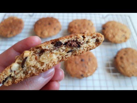 recette-de-cookies-maison-aux-pépites-de-chocolat-à-faire-en-5-minutes-🍪🍪🍪🍪🍪الوصف-أصلية-كوكيز-مقرمش