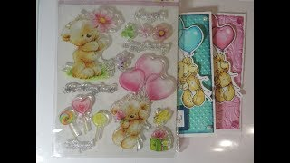 Card Making using Aliexpress Stamps and Dies 2 Birthday Cards