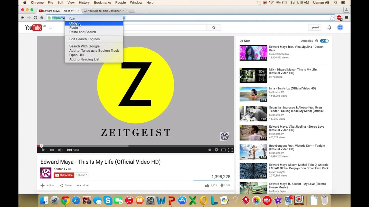 How to download MP3 Music From Youtube FREE EASY!!! - YouTube