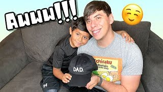 My Son Called My Boyfriend DAD For The First Time! Emotional*