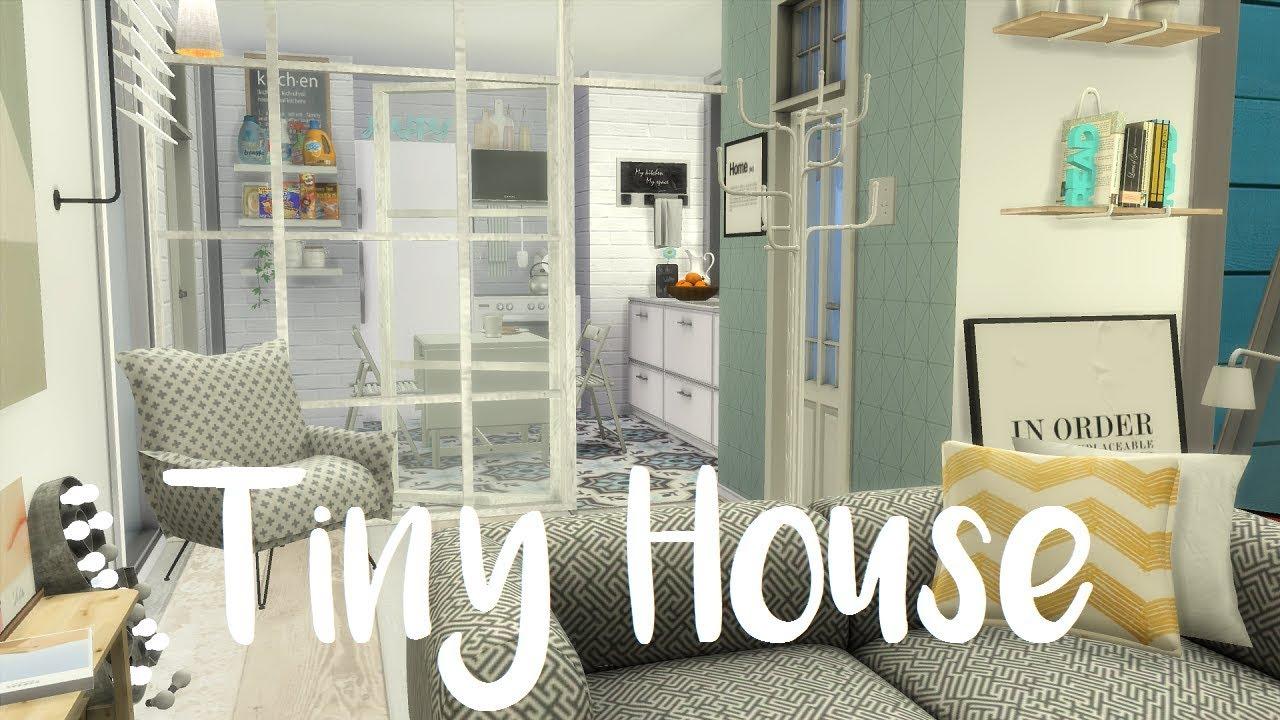 The Sims 4 Speed Build Tiny House Youtube