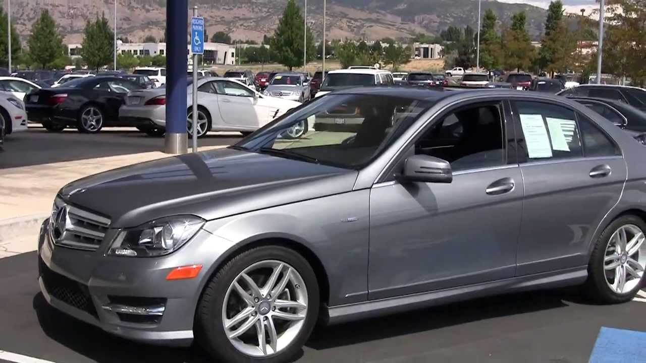 Mercedes benz c250 2012 sedan cr206615a youtube for 2012 c250 mercedes benz
