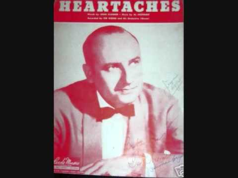 Ted Weems and His Orchestra - Heartaches (1938)