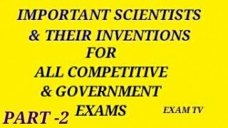 ||GK RRB & CGL|| IMPORTANT PHYSICS  INVENTION / DISCOVER