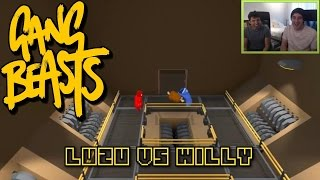 EL JAMON EXCALIBUR!! Gang Beasts con Willyrex - [LuzuGames]