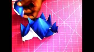 Vegeta~SSGSS~Papercraft
