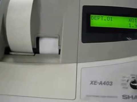 sharp electronic cash register model xe a403 youtube rh youtube com ASTM Standards ASTM Steel Specifications Chart