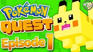 NEW POKEMON Game!? - Pokemon Quest Gameplay Walkthrough - Episode 1 - World 1! (Nintendo Switch)