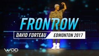 David Forte | FrontRow | World Of Dance Edmonton Qualifier 2017 | #WODEDM17