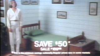 Sears Sale On Homestead Canopy Beds 1979.wm