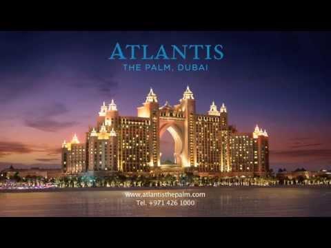 Adam Biddle shot commercial Aquaventure Atlantis The Palm Dubai