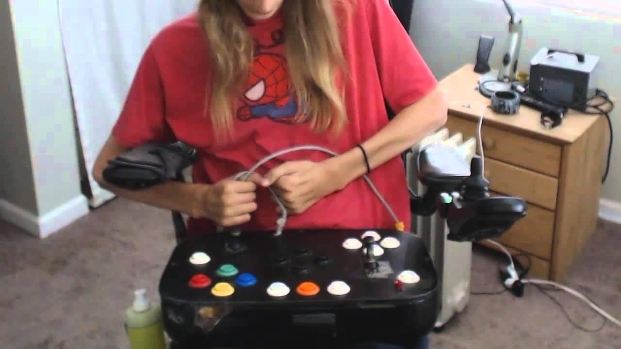 Custom Handicap Gaming Controller Youtube