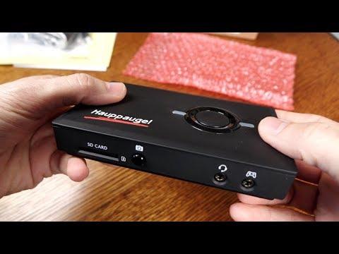 Hauppauge HD PVR PRO 60 Unboxing
