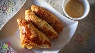 চকন পটস  Chicken Patties  Chicken Puff Pastry  R# 115