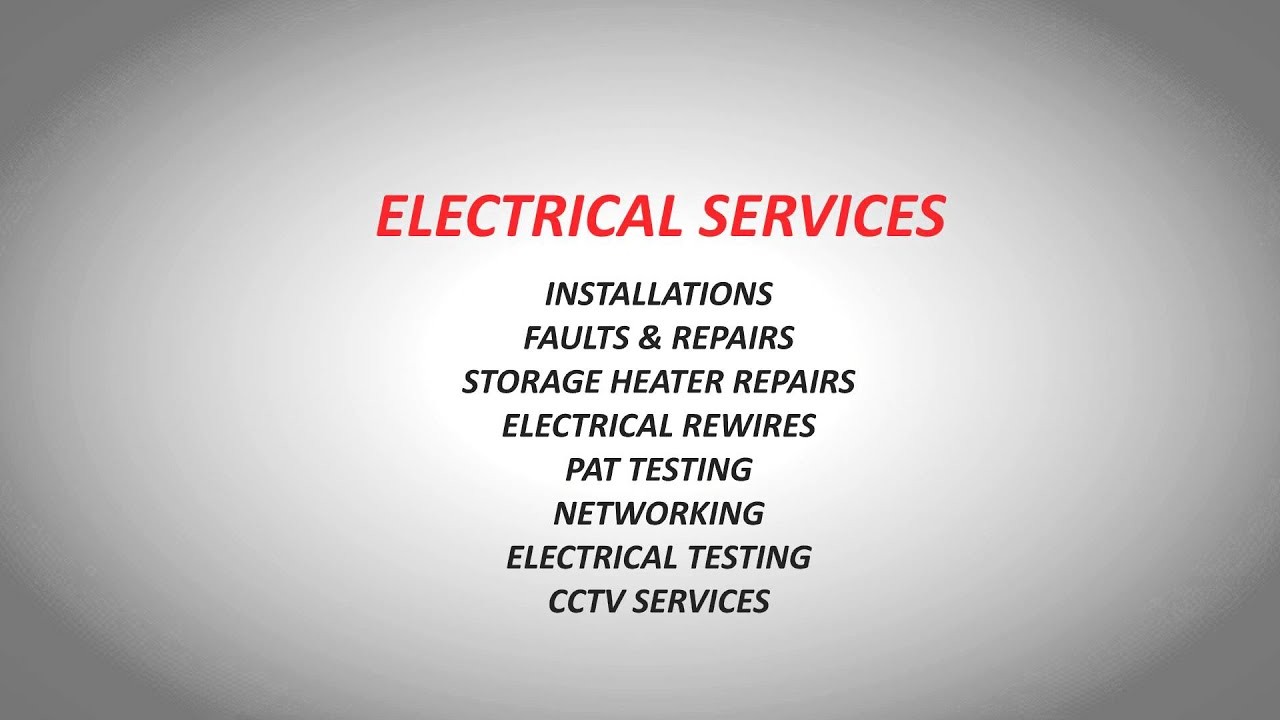 London Electricians For All Your Maintenance Testing Emergency Rewires Electrician Services And Electrical Contractor Needs
