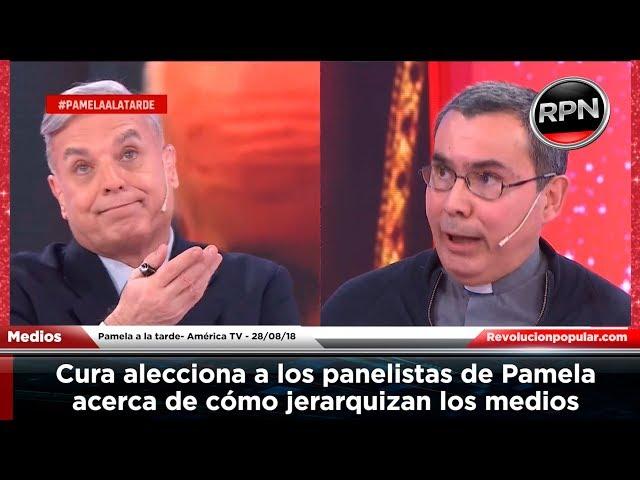 Cura se enoja en lo de Pamela porque lo dejaron para el final y les da lección de periodismo