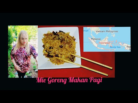 Mie Goreng Makan Pagi | BREAKFAST FRIED NOODLES | INDONESIAN FOODS | ASIAN COOKING | FAMILY FRIENDLY