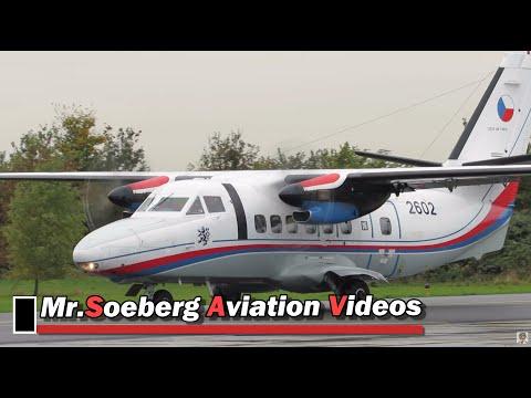 Nice Departure Let L-410 Turbolet, Czech AF, 2602