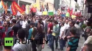 Turkey: Kurds protest Islamic State at Istanbul rally