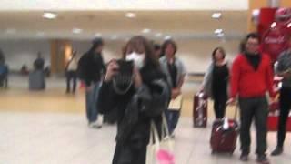 Fue todo un gusto esperar y poder saludar a Eir en el aereropuerto :D.