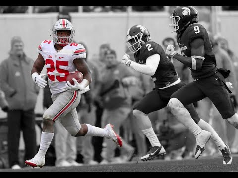 Mike Weber 2016 Highlights