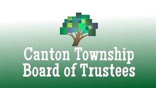 Gambar cover Canton Township Board of Trustees September 24th, 2019
