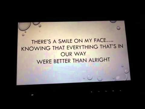 Between the raindrops lyrics video